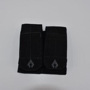 Dual mag pouch- black